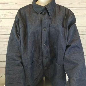 Other - 2xl Blue Denim Jacket Release Jacket S.C.I. Green